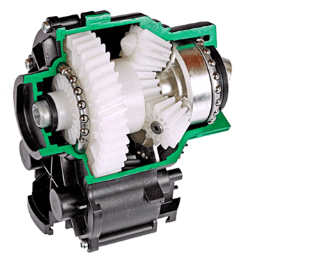 Planetary gear unit for food processors