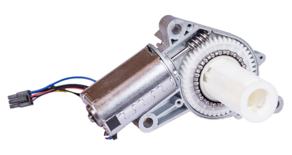 Worm gear unit for commercial coffee machines