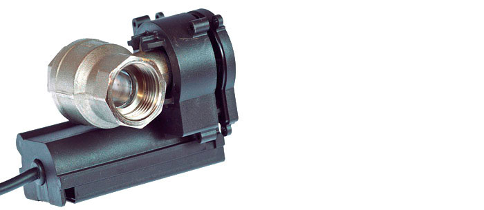 Worm gear unit for electric process valves